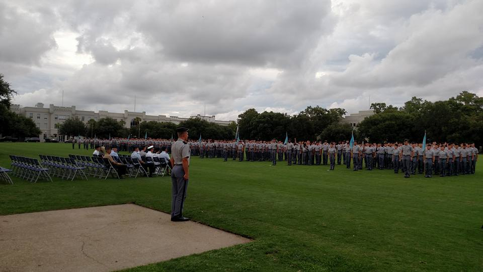 The Class of 2019 take the Cadet Oath http://www.citadel.edu/root/2015-oath-ceremony