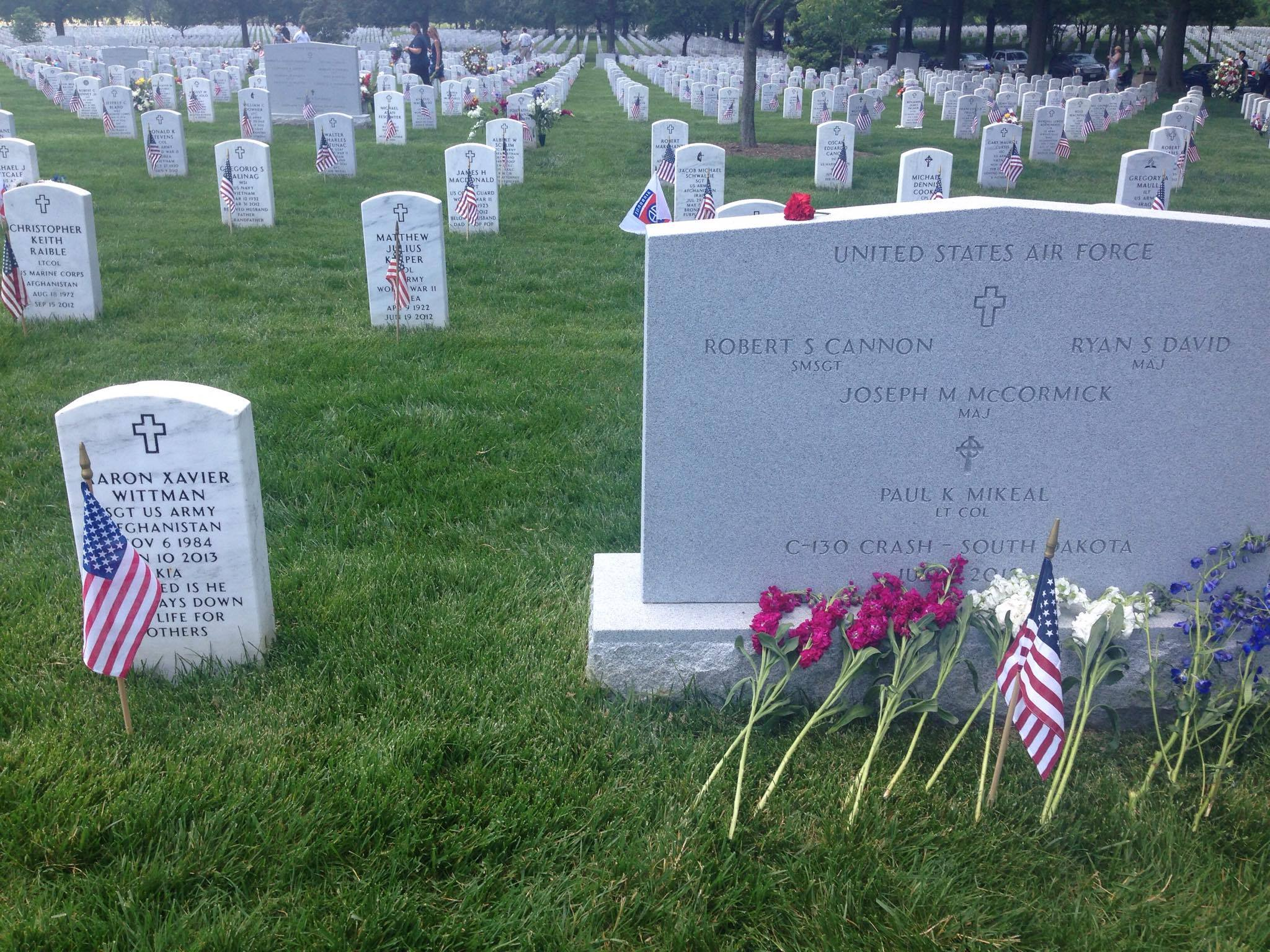 Wittman Cannon graves Arlington